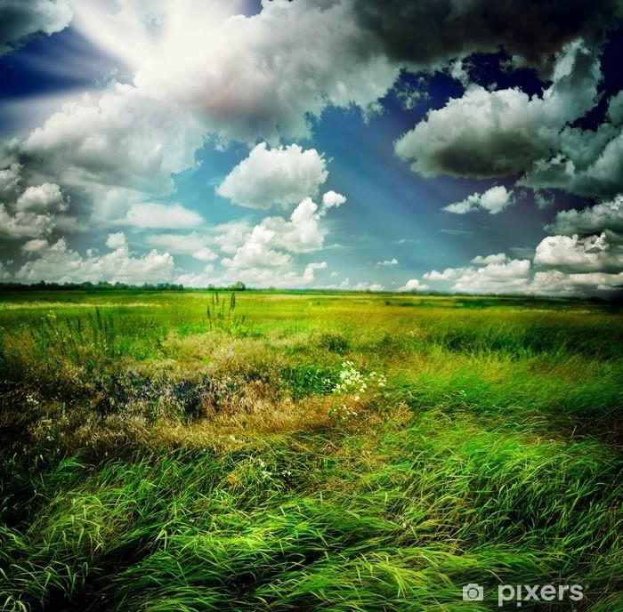 Fototapeta winylowa Piękna przyroda krajobrazu wiejskiego - Tematy