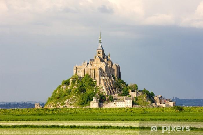 Vinylová fototapeta Mont Saint-Michel, Normandie, Francie - Vinylová fototapeta