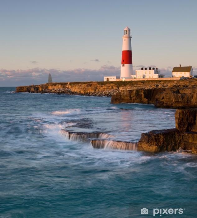 Vinylová fototapeta Portland Bill Lighthouse, Dorset, Velká Británie - Vinylová fototapeta