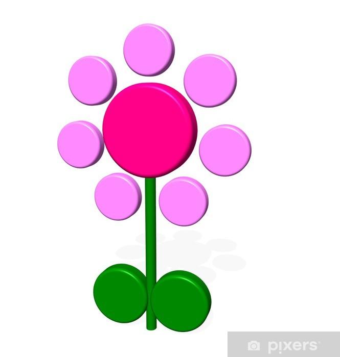 Papier peint vinyle Flower01 - Signes et symboles