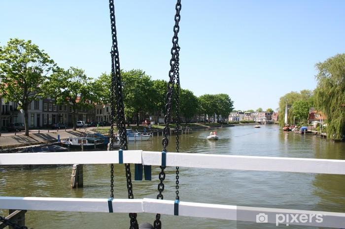 Papier peint vinyle Ville de Weesp aux Pays-Bas - Europe