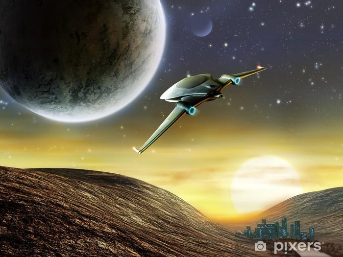 Papier peint vinyle L'aventure spatiale - Espace