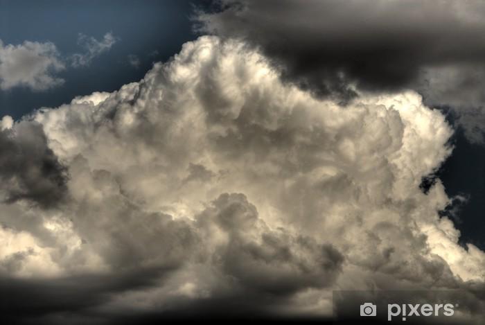 Fototapeta winylowa Burzowe chmury - Tematy