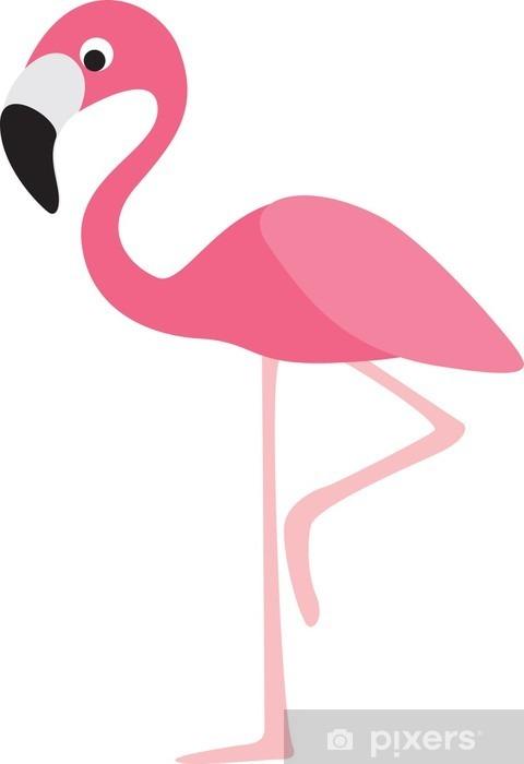 Flamingo Cartoon Wall Mural Pixers 174 We Live To Change