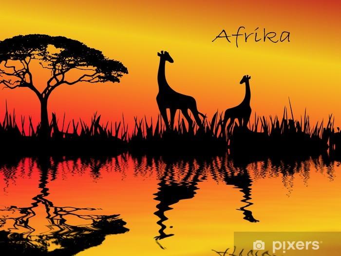 Vinyl-Fototapete AFRIKA - Sonstige