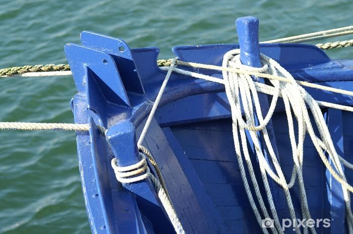 Vinyl-Fototapete Cordes, noeuds marins, Fixierungen ........ - Boote