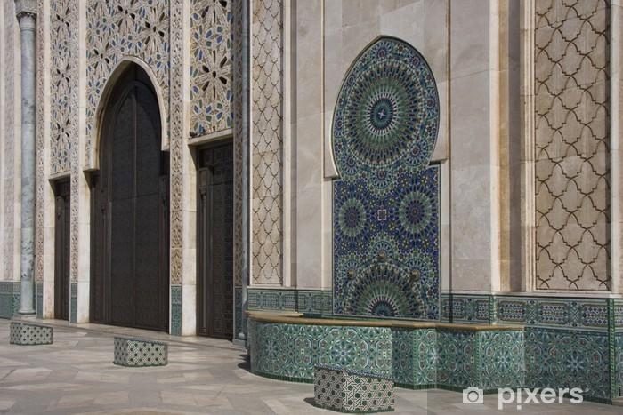 Casablanca - Moschea Hassan II - esterno Vinyl Wall Mural - Africa