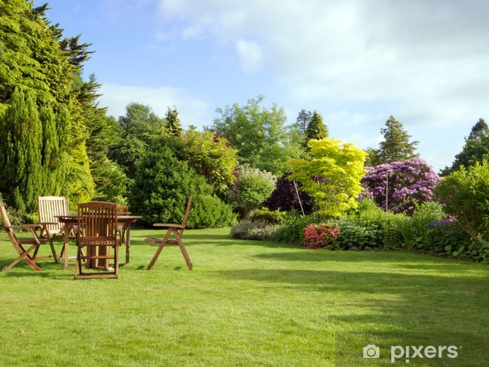 Papier peint vinyle Jardin anglais - Paysages urbains