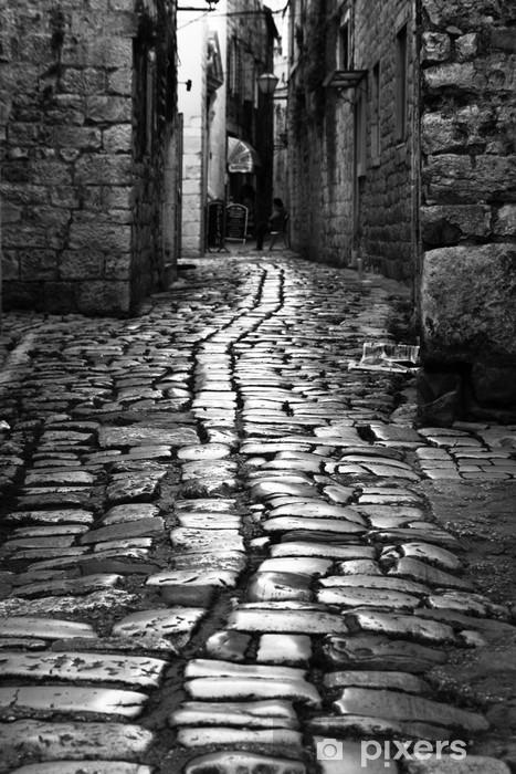 Fototapeta winylowa Old Alley - Infrastruktura