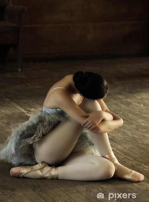 Naklejka Pixerstick Balerina - Balet