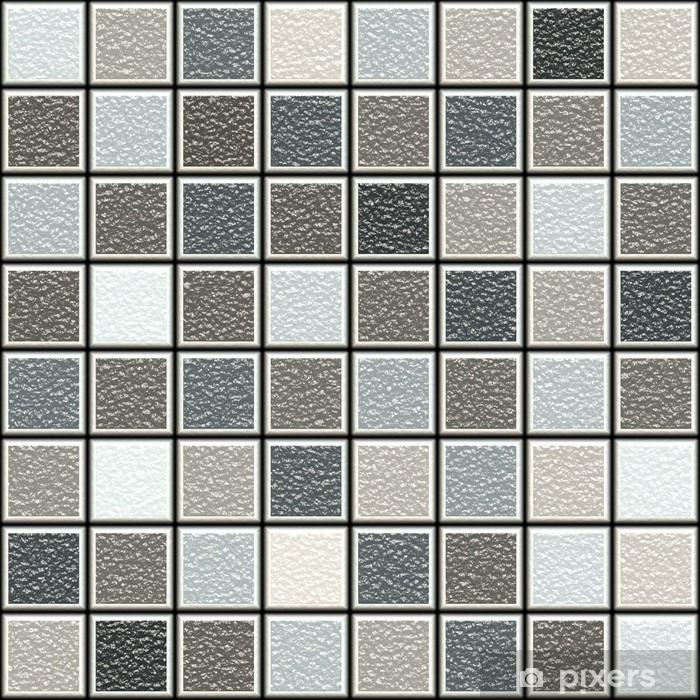 Fototapete Grau Und Braun 3d Struktur Fliesen Muster Pixers Wir