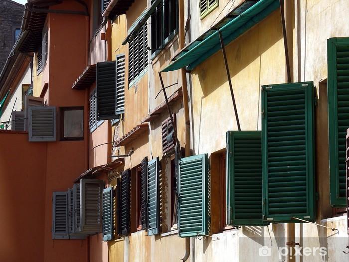Vinyl-Fototapete Fenêtres Toscanes - Europa