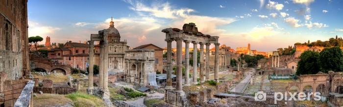 Papier peint vinyle Rome hdr vue panoramique - Thèmes