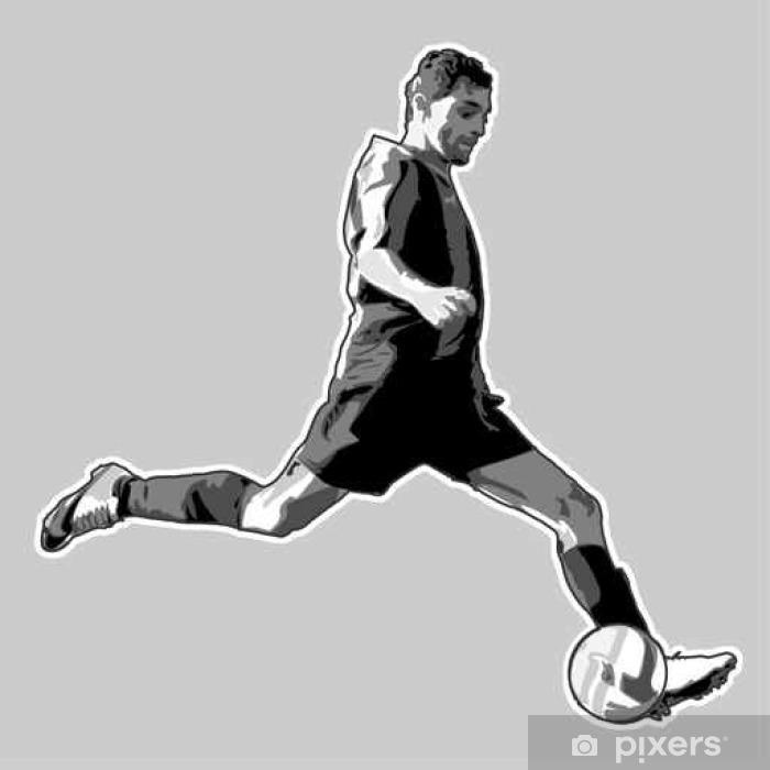 Naklejka Pixerstick Soccer # 1 - Sport