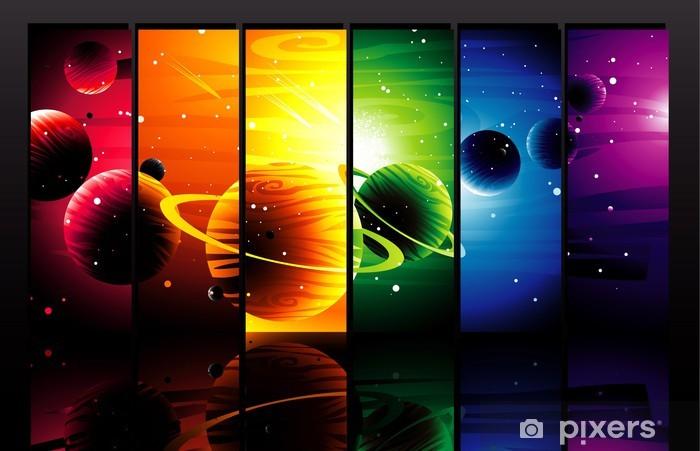Planeten Farbe