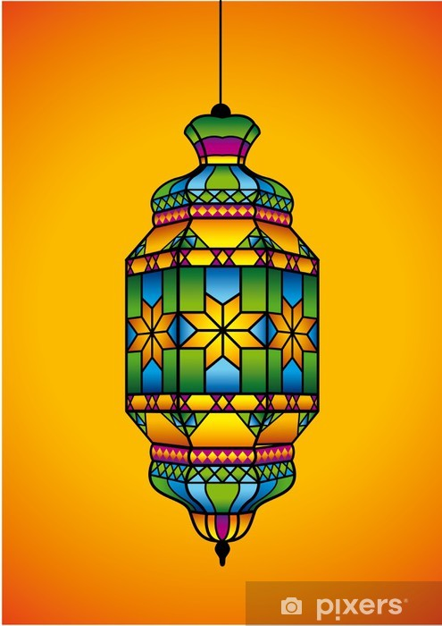 Ramadan Eid Mubarak Kareem Lantern Stickers Islamic Art