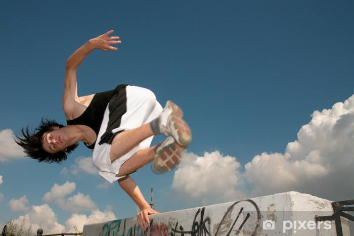 Fototapeta winylowa Parkour - Sporty indywidualne