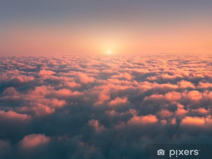 Fototapeta winylowa Nad morze mgły o wschodzie słońca - Krajobrazy
