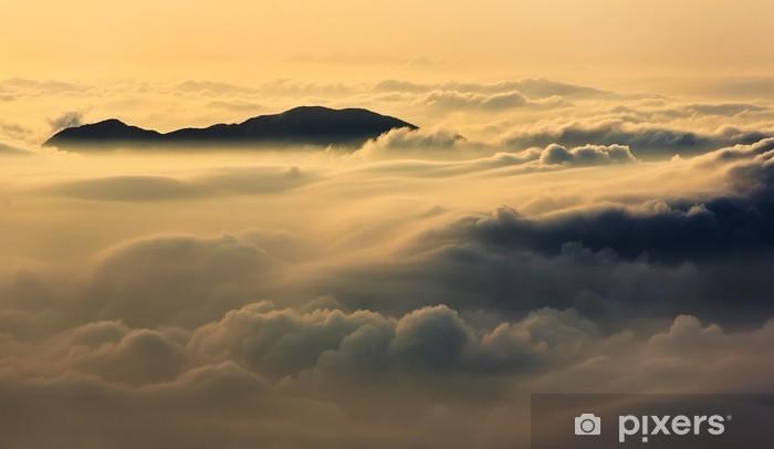 Vinyl Fotobehang Boven de Wolken - Thema's