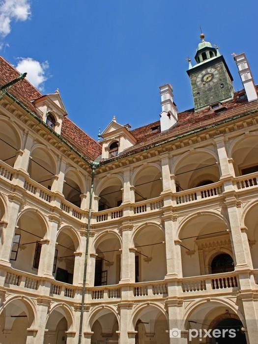 Naklejka Pixerstick Arkady Landhaus Graz / Styria / Austria - Europa