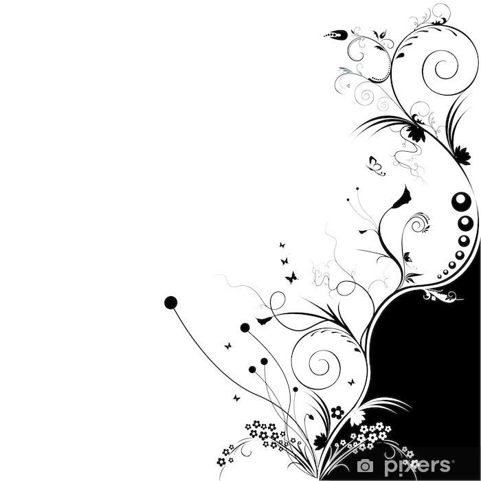Papier peint vinyle Volutes - Textures