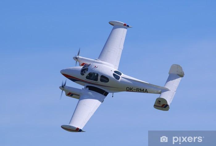 Naklejka Pixerstick Let L-200 Morava - Transport powietrzny