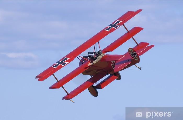 Papier peint vinyle Fokker Dr.1 tourné Ecker - Dans les airs