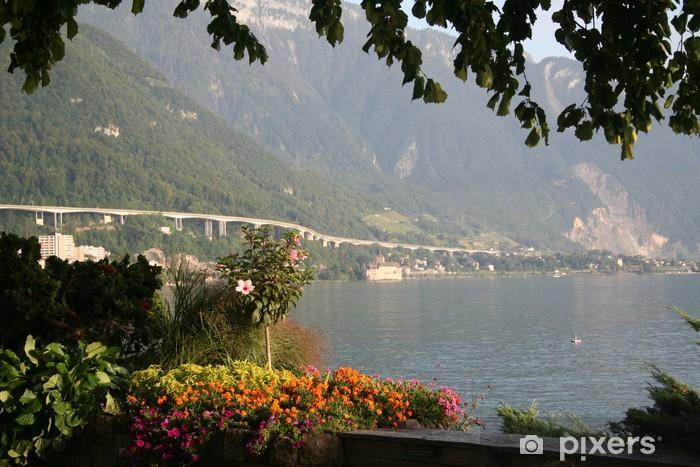 Fototapeta winylowa Montreux - Europa