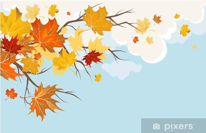 Autumn leaves Vinyl Wall Mural - Themes