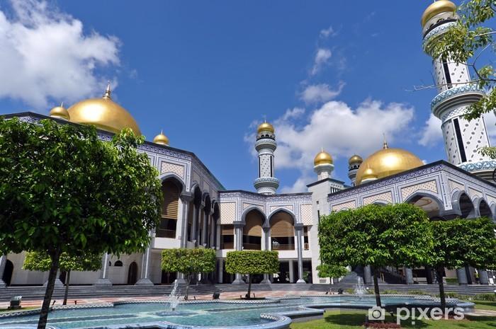 Vinyl-Fototapete Moschee in Brunei - Asien