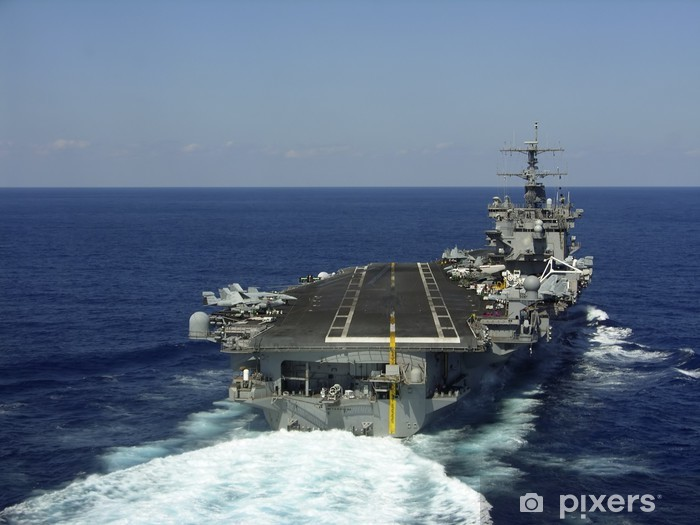 aircraft carrier Vinyl Wall Mural - Boats