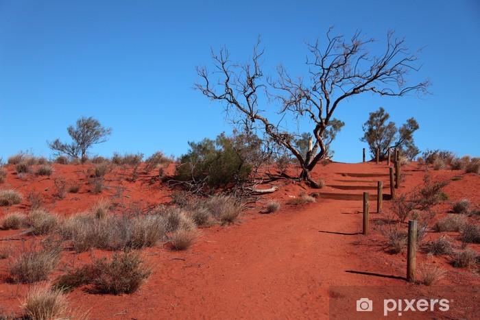 Fototapeta winylowa Pustynia środkowej Australii - Tematy