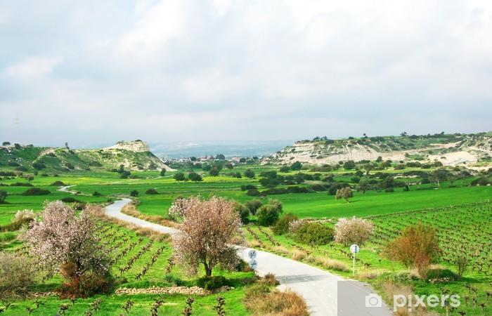 Pixerstick Aufkleber Landschaft - Landwirtschaft
