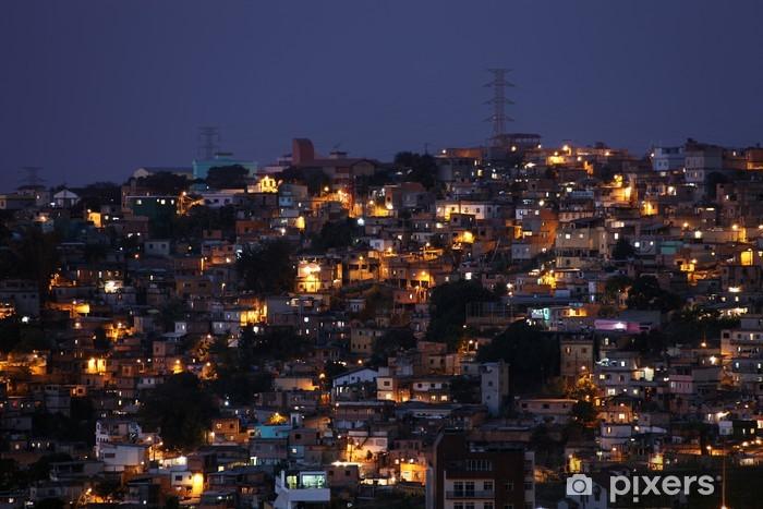 Fotomural Estándar Favella - Brasil