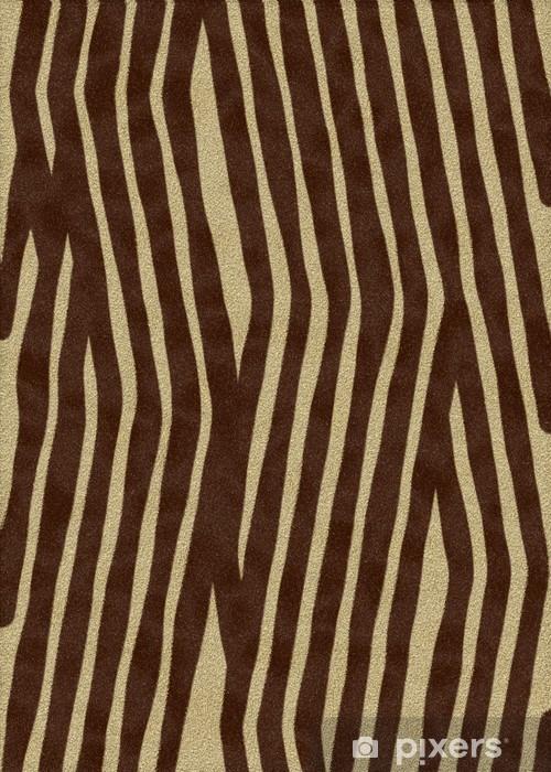Adesivo per Tavolo & Scrivania Pelliccia di tigre - Sfondi