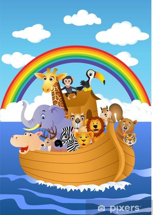 Noah's Ark Vinyl Wall Mural - Preschooler