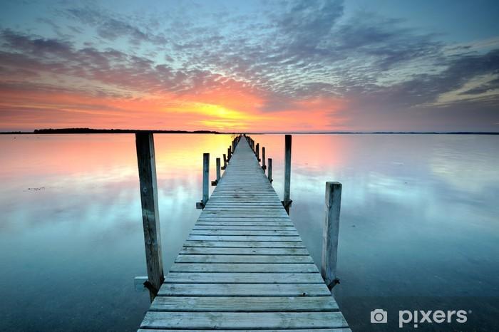 Naklejka Pixerstick Zachód słońca - Tematy