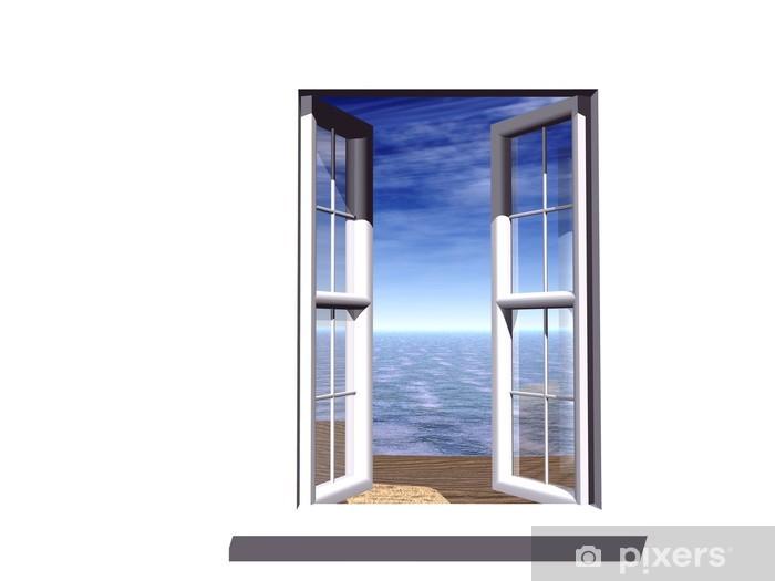 Fototapeta winylowa Otwarte okno - Naklejki na ścianę