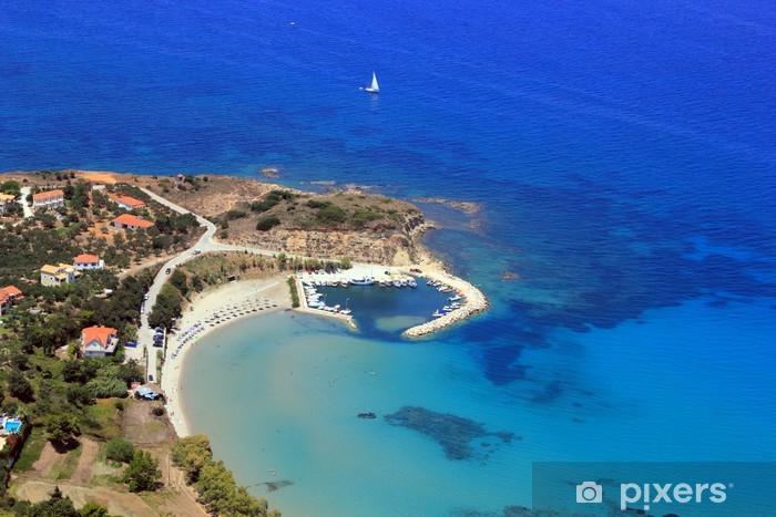 Fototapeta winylowa Informacje na wyspie Zakynthos - Europa