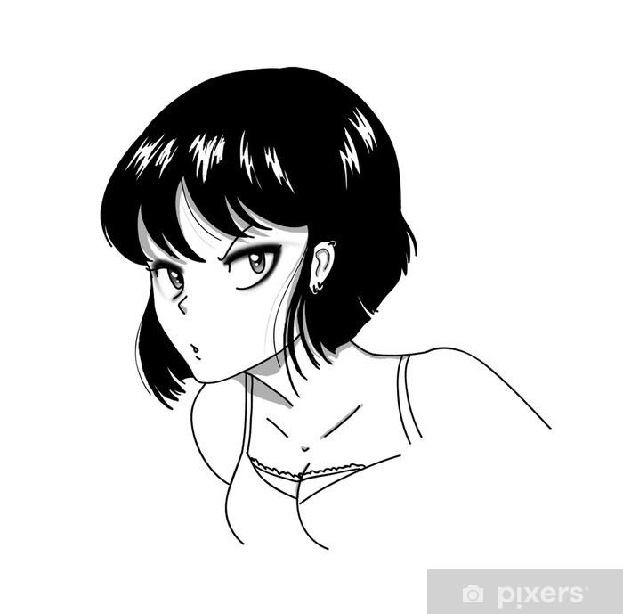 Plakat Dziewczyna Manga z wątpliwe wypowiedzi - Inne uczucia
