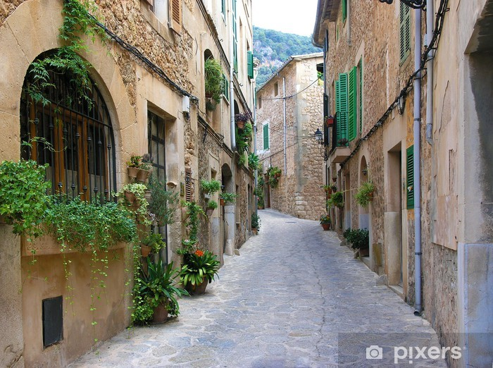Fototapeta winylowa Gasse w Valldemossa - Europa