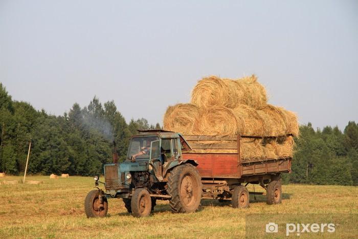 Fototapeta winylowa Ciągnik - Rolnictwo