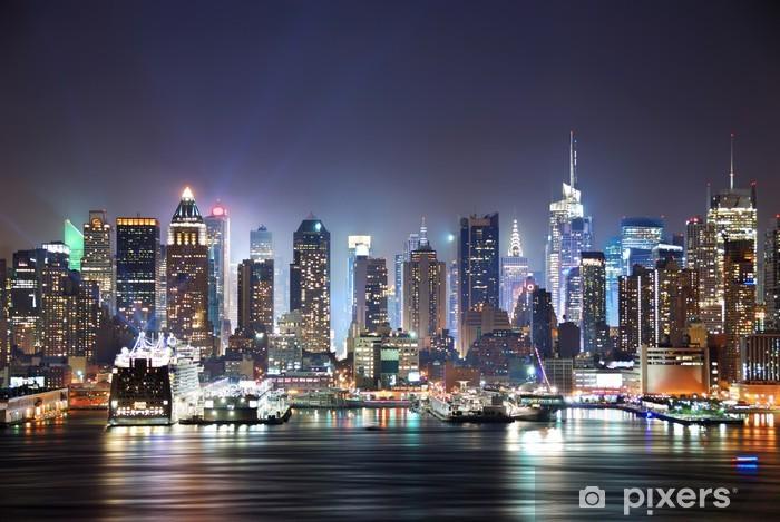 Deursticker New York Times Square -