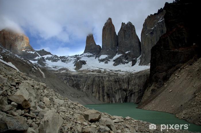 Pixerstick Aufkleber Torres del Paine, Chile - Amerika
