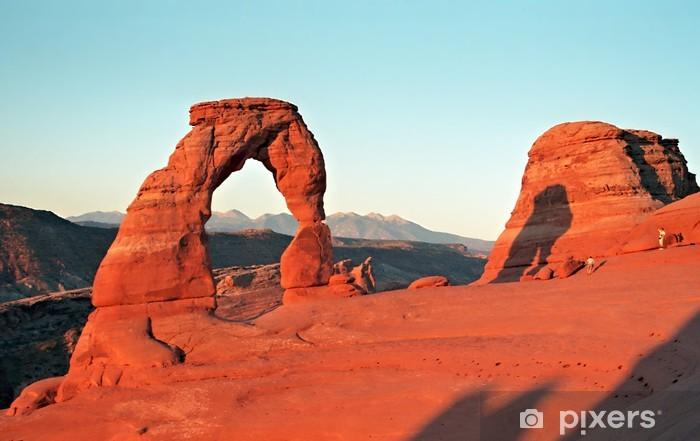 Naklejka Pixerstick Delicate Arch, Arches National Park, Utah / Arizona - Ameryka