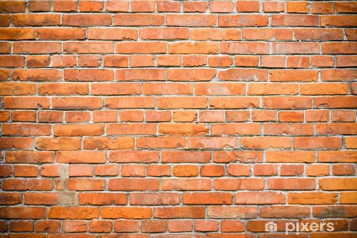 Papier peint vinyle Mur de briques. Fond - Arrière plans