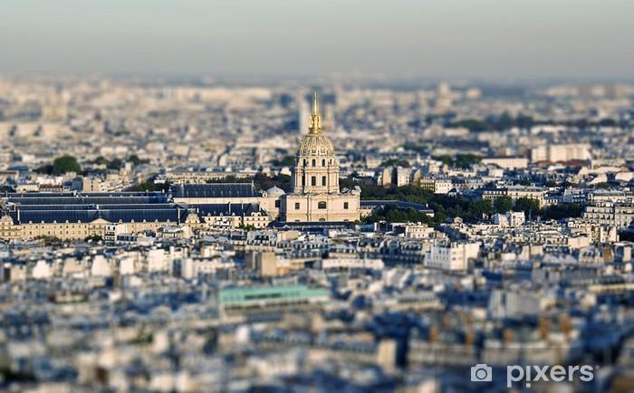 Nálepka Pixerstick Paris - Evropská města