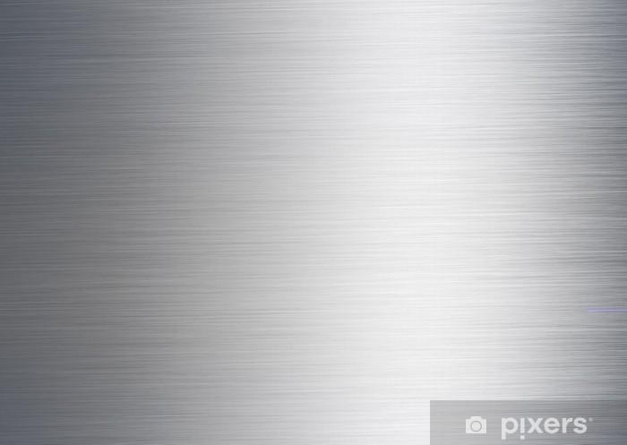 Fırçalanmış Metalik Gümüş Arka Plan Duvar Resmi Pixers Haydi