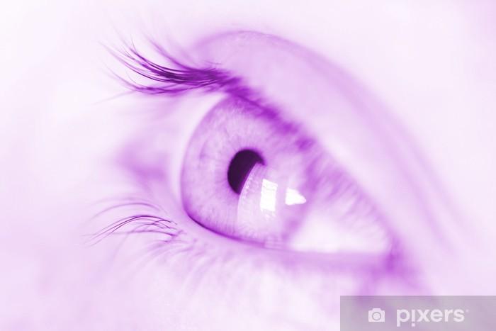 Fototapeta winylowa Violet oeil - Religie