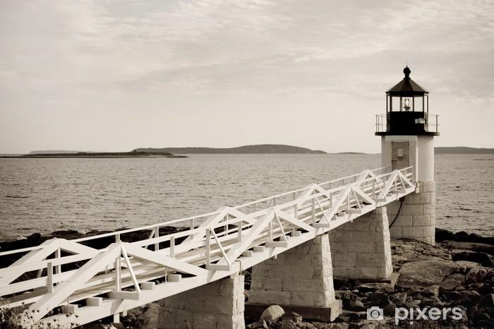 Papier peint vinyle Marshall Point phare sur la côte Atlantique du Maine - Amérique